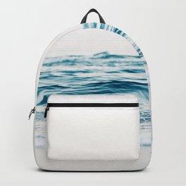 Sea water blue 8 Backpack