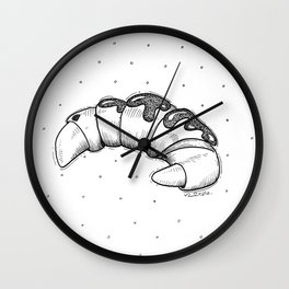 French Croissant Wall Clock