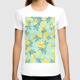 Lemon Twist Vibes #4 #tropical #fruit #decor #art #society6 T-shirt