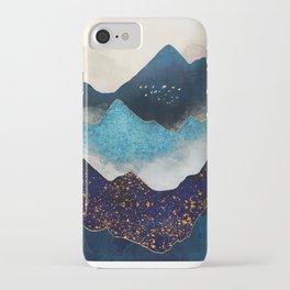 Indigo Peaks iPhone Case