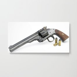 Smith & Wesson Model 3 (Schofield Second Model) Metal Print