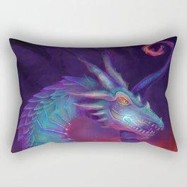 Lightning Dragon Rectangular Pillow