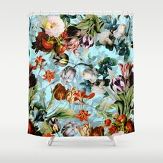 SUMMER BOTANICAL VI Shower Curtain