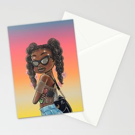 Susie Summer Color Stationery Cards