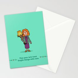 Mrs Parker and the Lamp Stationery Cards