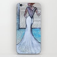 dress iPhone & iPod Skins featuring Dress by Sarah Ridings