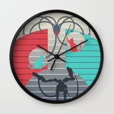 The battle for Zion Wall Clock