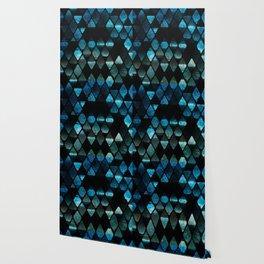 Abstract rhombuses - mermaid version Wallpaper