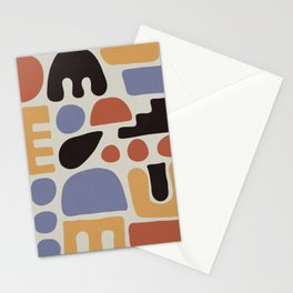 Shapes & Colors Stationery Cards