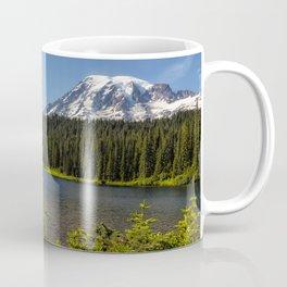 Wildlflower Color by Reflection Lake and Mt Rainier, No. 1 Coffee Mug