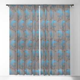 The Wolf Sheer Curtain