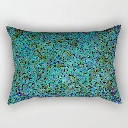 Oceana: Pointalism Rectangular Pillow