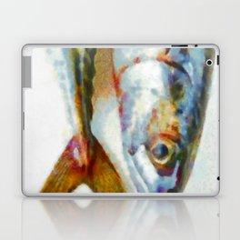 Mackerel fish (signed) Laptop & iPad Skin
