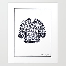 WOOLLY JUMPER - SWEATER TO YOU Art Print