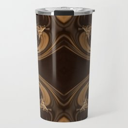 Sequential Baseline Pattern 16 Travel Mug