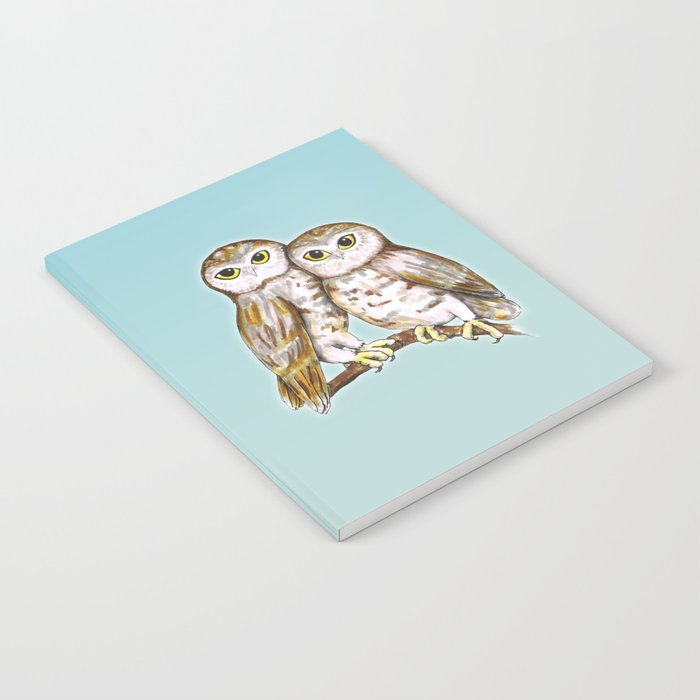 Two cute owls Notebook