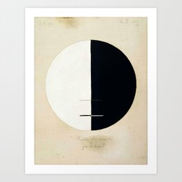 Hilma af Klint, Buddha's Standpoint in the Earthly Life, 1920 Art Print