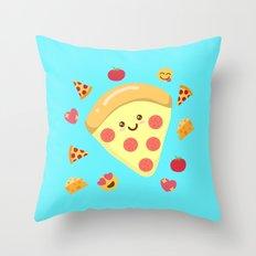 Pizza Feels Throw Pillow