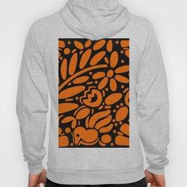 Beautiful Orange Otomi Hoody