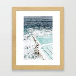 Bondi Pools Framed Art Print