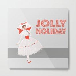 Jolly Holiday Metal Print