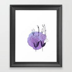 lisianthus Framed Art Print