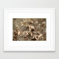 confetti Framed Art Prints featuring Confetti by Irène Sneddon