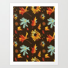 Fall/Autumn Art Print