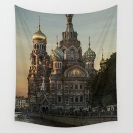 Church of the Savior on Blood Wall Tapestry