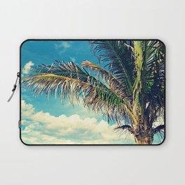 Breezy Beach Palm Laptop Sleeve