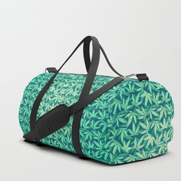 HIGH TYPO! Cannabis / Hemp / 420 / Marijuana  - Pattern Duffle Bag