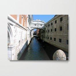 Venice Print Metal Print