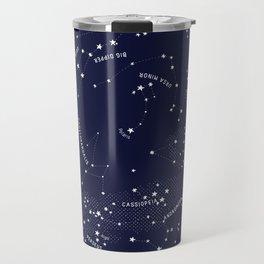 Constellation Map - Indigo Travel Mug