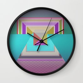 Angles in Abstract Wall Clock