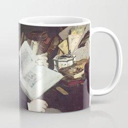 Edouard Manet - Portrait of Emile Zola Coffee Mug
