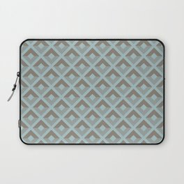 Two-toned square pattern Laptop Sleeve