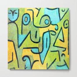 Paul Klee Young Moe Metal Print
