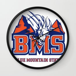 Blue Mountain State Wall Clock