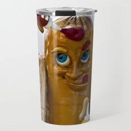 Hot Dog Dressing Up Travel Mug