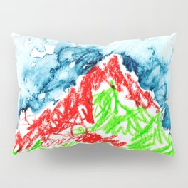 up to the hill Pillow Sham