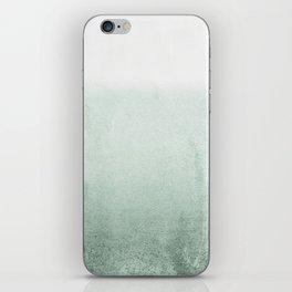 FADING GREEN EUCALYPTUS iPhone Skin