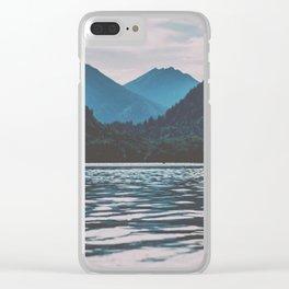 Bannwaldsee, Schwangau  lake in Bavaria Germany Clear iPhone Case