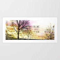 Unexplored Avenues by Debbie Porter Art Print