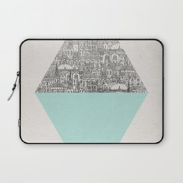a faded tumult Laptop Sleeve
