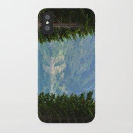 norwegian fjords iPhone Case