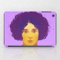 lana iPad Cases featuring Lana by Esther Cerga