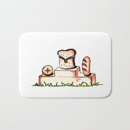 Bread Winner Bath Mat