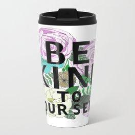 be kind Metal Travel Mug
