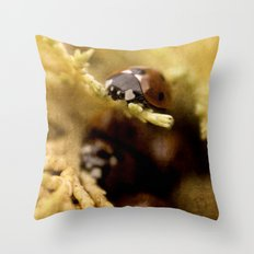 Lady On Top Throw Pillow