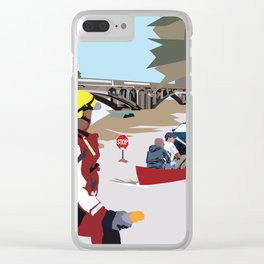 SC Flood Clear iPhone Case